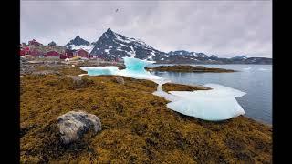 Ученые нашли аномалию в Гренландии. Под льдами обнаружен кратер с гравитационной аномалией.