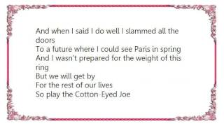 Charlie Robison - The Wedding Song Lyrics
