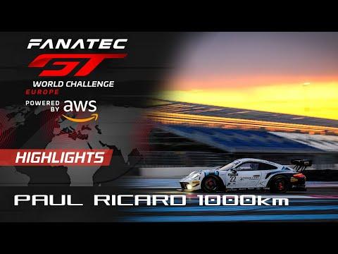 ブランパンGTシリーズ(ポール・リカール) 決勝レースのハイライト動画