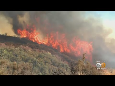 Now 12,000 Acres, Apple Fire In Cherry Valley Forces Thousands Out Of Their Homes