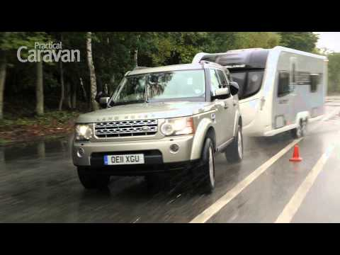Practical Caravan's Land Rover Discovery 4 3.0 SDV6 HSE tow car review