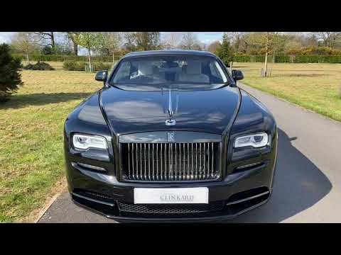 Rolls Royce Wraith Black Badge Video