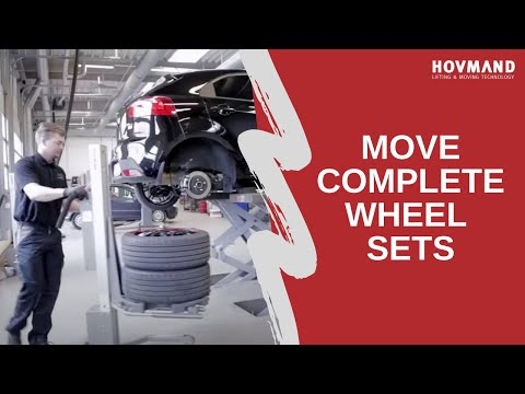 Hovmand - Lifting & mounting of wheels - W-mount Icon
