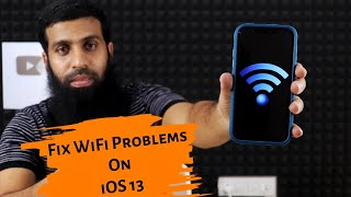 Solve iOS 13 WiFi problems for free