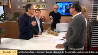 Virtuell 3D-värld lindrar Tures fantomsmärtor - Nyhetsmorgon (TV4)