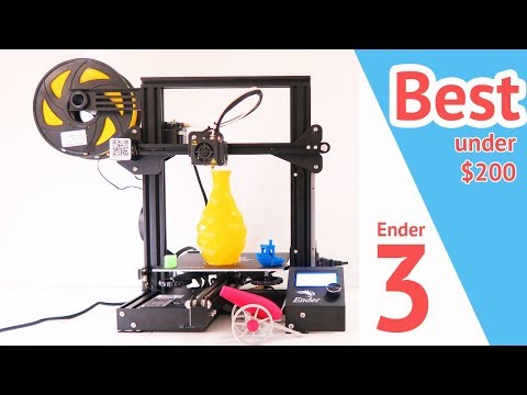 Best 3D Printer – Creality Ender 3 Review