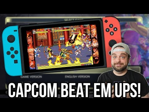 Capcom Beat Em Up Bundle for Nintendo Switch - Arcade Greatness! | RGT 85