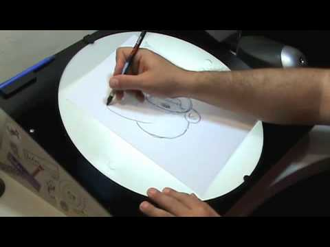 Donde puedo conseguir tablero para realizar dibujos for Mesa de luz para dibujo