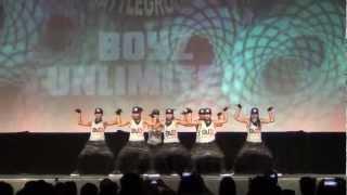 BOYZ UNLIMITED 2012 WORLD SUPREMACY BATTLEGROUNDS CHAMPION (OPEN DIVISION)