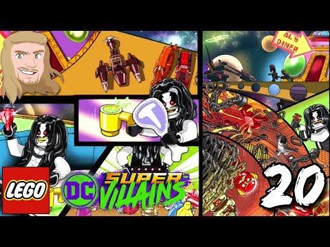 Lobo berättar om Justice League | LEGO DC Super Villains | Del 20