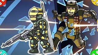 🐾 УДАРНЫЕ ГЕРОИ ИДУТ В БОЙ #2 в мультфильме  игре для ребят  Strike Force Heroes