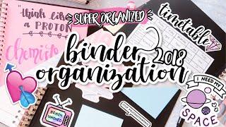 DIY TUMBLR BINDER ( INDONESIA ) | My 2018 Binder Organization | Back to School