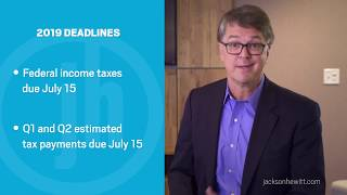 Tips for filing your 2019 taxes