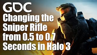 Changing The Time Between Shots For The Sniper Rifle From 0.5 To 0.7 Seconds For Halo 3