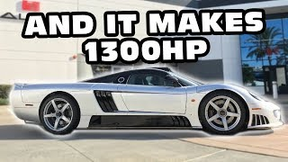 The Most Expensive Hypercar Ever Offered Is A Limited Edition Saleen S7