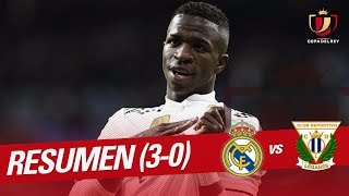 Resumen de Real Madrid vs CD Leganés (3-0)