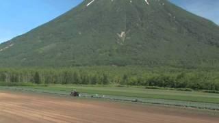 北海道観光映像(羊蹄山《後方羊蹄山》)