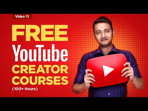 🔥Become Youtuber with these Free Courses |Youtube Creator Academy |How to become a Youtuber in Hindi