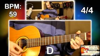 Mark knopfler - The Long Highway Guitar lesson