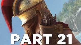 ASSASSIN'S CREED ODYSSEY Walkthrough Gameplay Part 21 - ANTHOUSA (AC Odyssey)