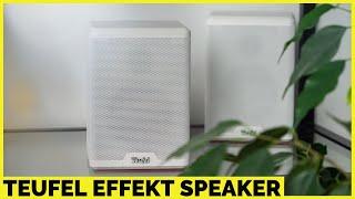 Teufel Effekt Rear Speaker für Cinebar Lux, Cinebar 11 Mk2, ... | Soundbar aufpimpen | CH3 Test