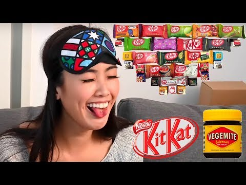 Crazy Japanese Kit Kats - Honest Taste Test! ? ? ?