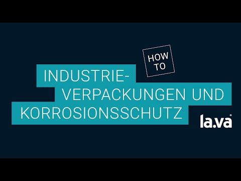 Versandverpackung und Korrosionsschutz durch Vakuum