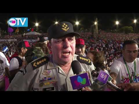 General Julio César Avilés: Celebramos 40 años de Revolución con una Nicaragua en paz y tranquilidad
