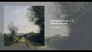 3 String Quartets, Op. 7