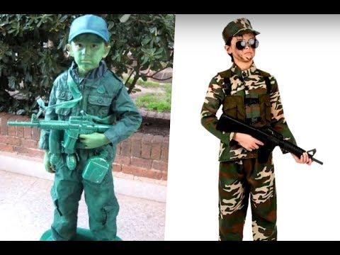 Increíbles Disfraces de Soldado para Niños