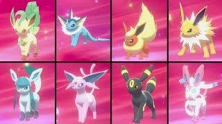 Leafeon  - (Pokémon) - Pokemon Sword & Shield - How to evolve Eevee into ALL 8 Eeveelutions