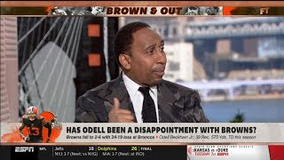 ESPN FIRST TAKE | Stephen A. Smith heated debate: Has Odell ben a disappointment with Browns?