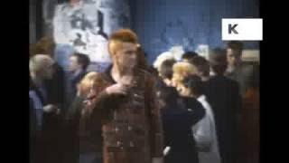 Queueing Outside the Marquee Club, Adam and the Ants RARE, 1980 London, Punk, Home Movies