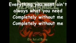 Completely - Art Of Dying (With Lyrics)