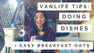 VANLIFE TIPS: How To Do Dishes In A Van
