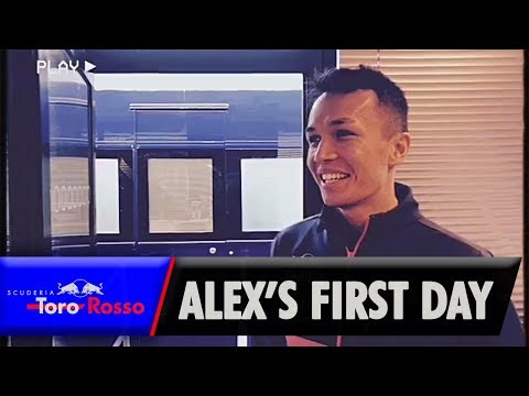 Alex's First Day in F1 (Home Video)