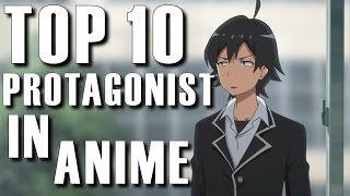 Top 10 Anime Protagonist With AnimeCorner