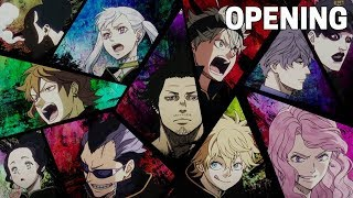 Black Clover OPENING 2 | PAiNT It BLACK (HD)
