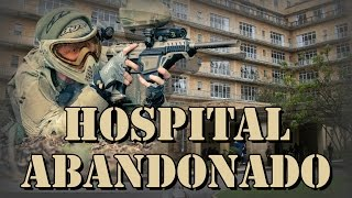 preview picture of video 'UNIQUE PAINTBALL ESCENARIO - Hospital ABANDONADO 31 de julio'