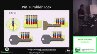 Quick Intro To Lock Picking - Adrian Crenshaw