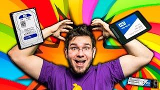 SSD vs. HDD - Jak przyśpieszyć Windows? - NISZCZYCIELSKA KONFRONTACJA!