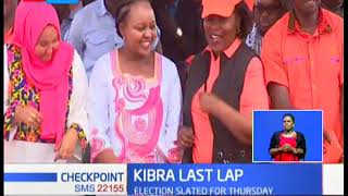 Candidates make final rounds ahead of Kibra polls