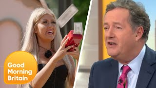 Piers Loses It With Love Island's Jess and Her Favourite Number | Good Morning Britain