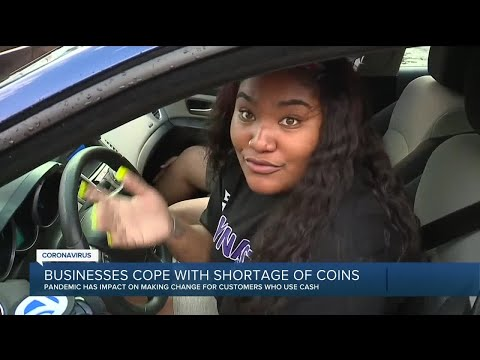 Coin shortage impacting local businesses
