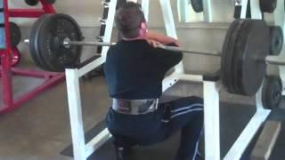 Travis Cadenhead Front Squats