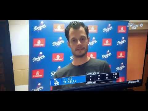 Dodgers Joe Kelly fight Houston Astros 2020 Joe Kelly interview