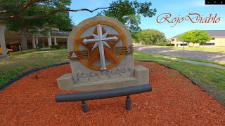 Cinewhooping the Church of Scientology Dallas - Shendrones Squirt V2 DJI HD FPV