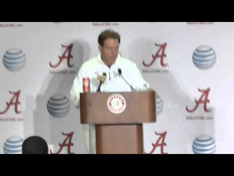 Stephen's Report: Nick Saban Presser (Nov. 22, 2014)
