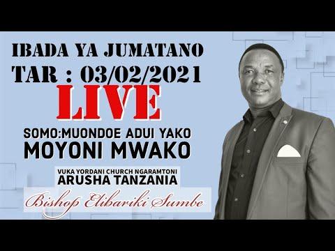 Bishop Elibariki Sumbe Live Stream |  Ibada Ya Jumatano Tr 03/02/2021 I Somo : Muondoe Adui  Moyoni