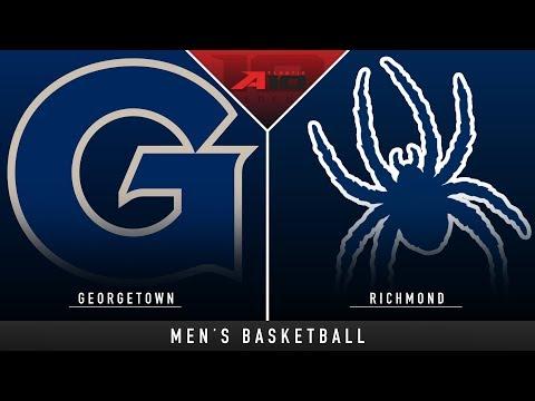 Georgetown vs Richmond - College Basketball Hype | Stadium